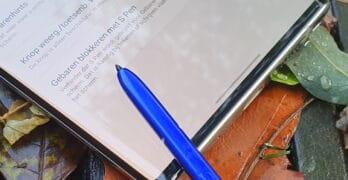 samsung galaxy note 10 s pen negeren bij gebaren navigatie