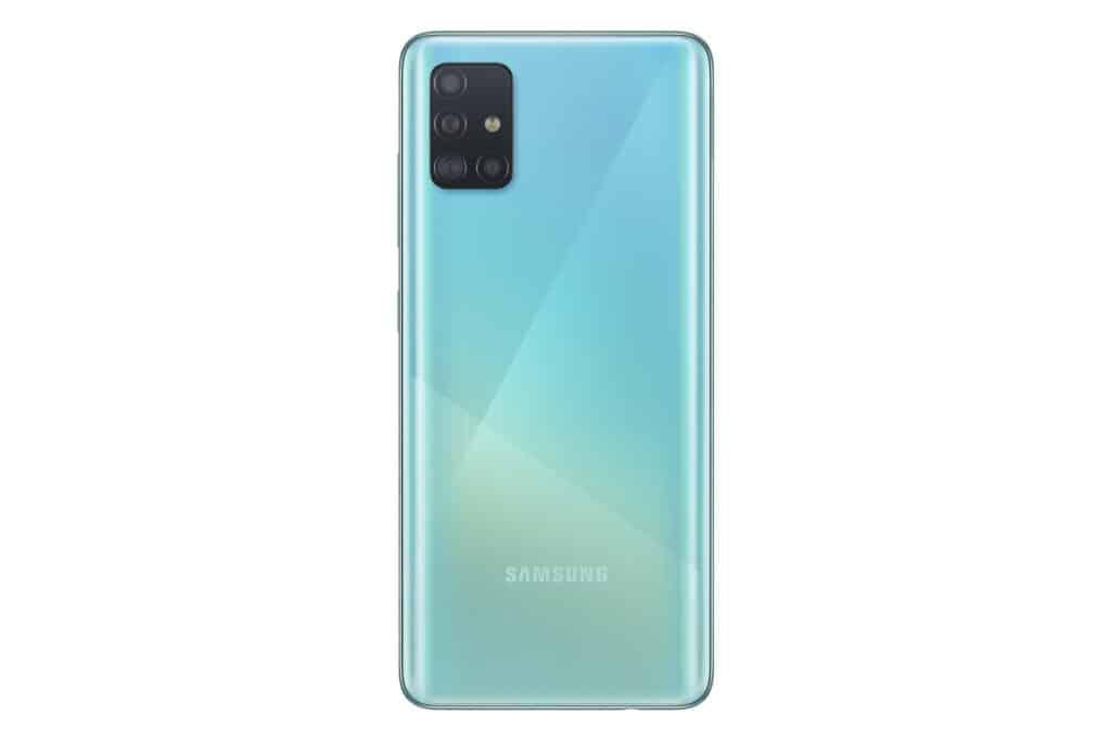 samsung galaxy a51 blauw