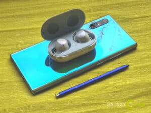 samsung galaxy note 10 review bluetooth buds