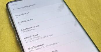 samsung galaxy s10 android 10 update in nederland