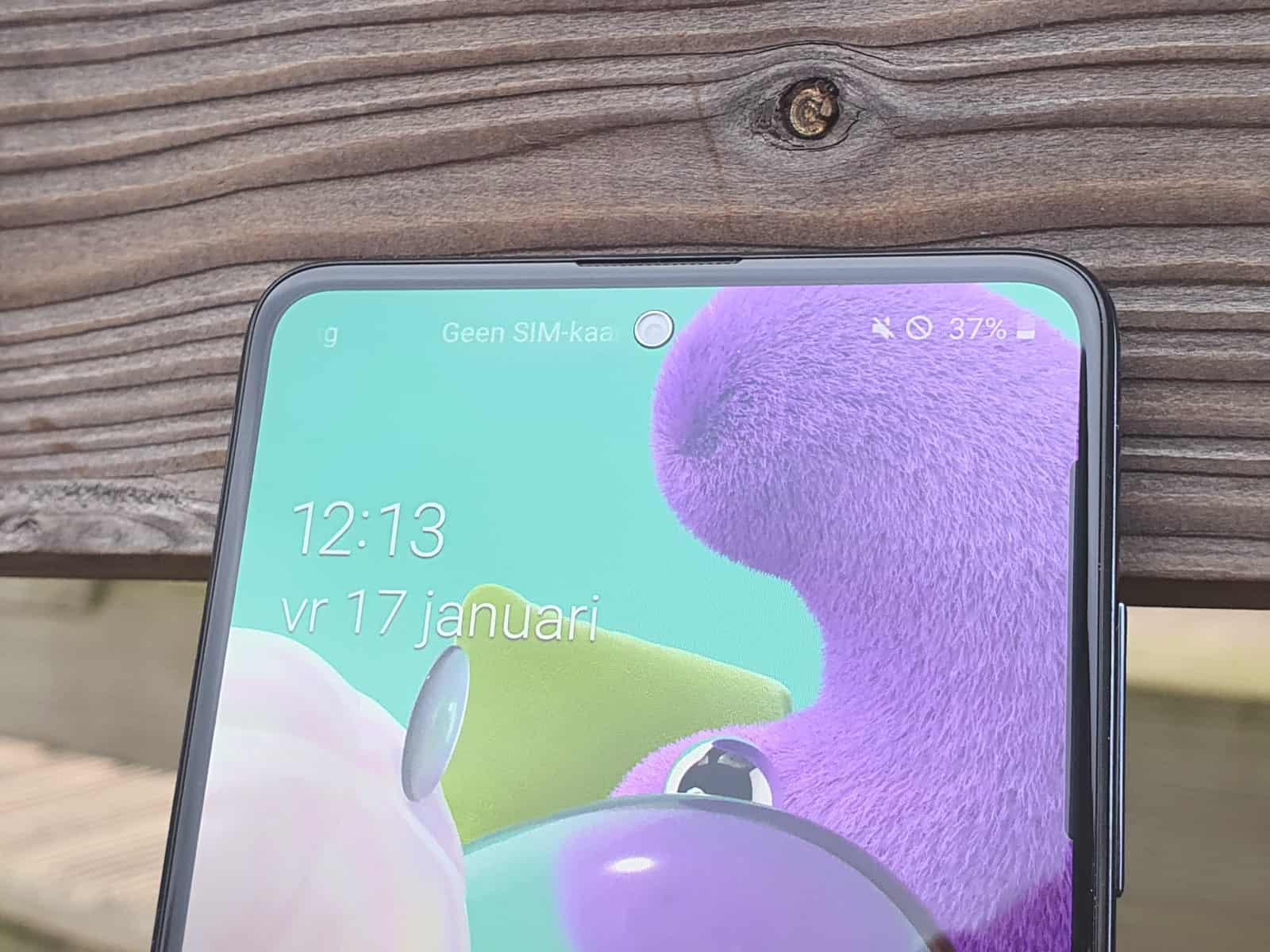 Galaxy A51 notch