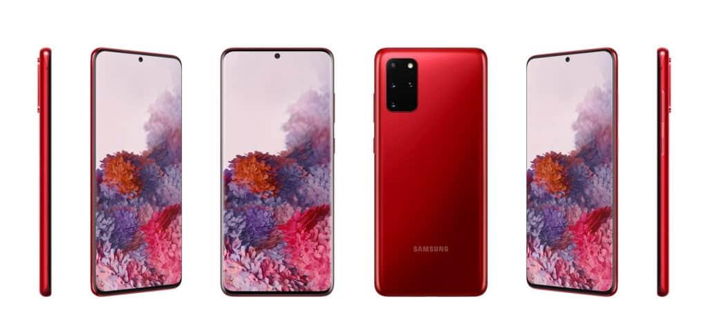 aura red samsung galaxy s20 plus rood