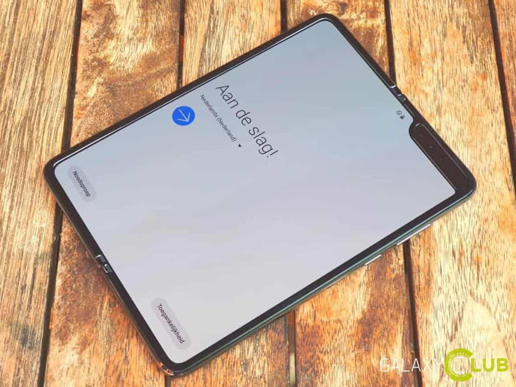 samsung galaxy fold android 10 update nederland