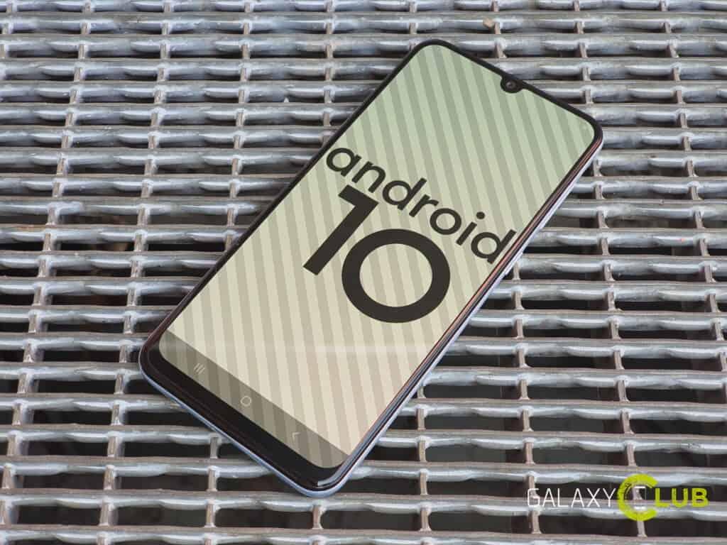 samsung galaxy a50 android 10 update in nederland