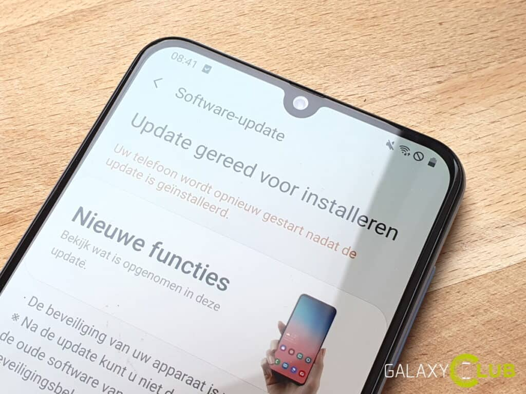 samsung galaxy a50 update mei 2020