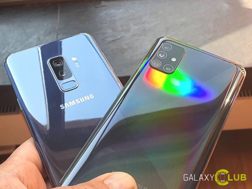 samsung galaxy s9 en a51 one ui 2.1 update