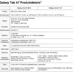 samsung galaxy tab a7 specificaties