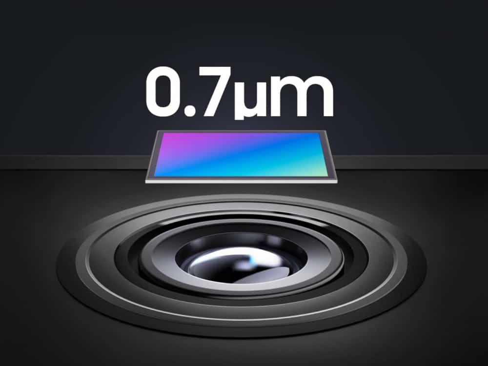 samsung isocell 0,7 micrometer camera sensoren hm2