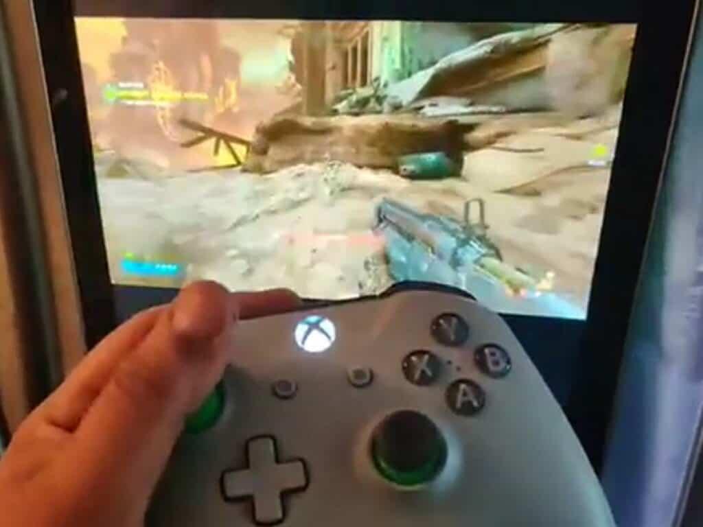 Doom Eternal spelen op een Samsung koelkast