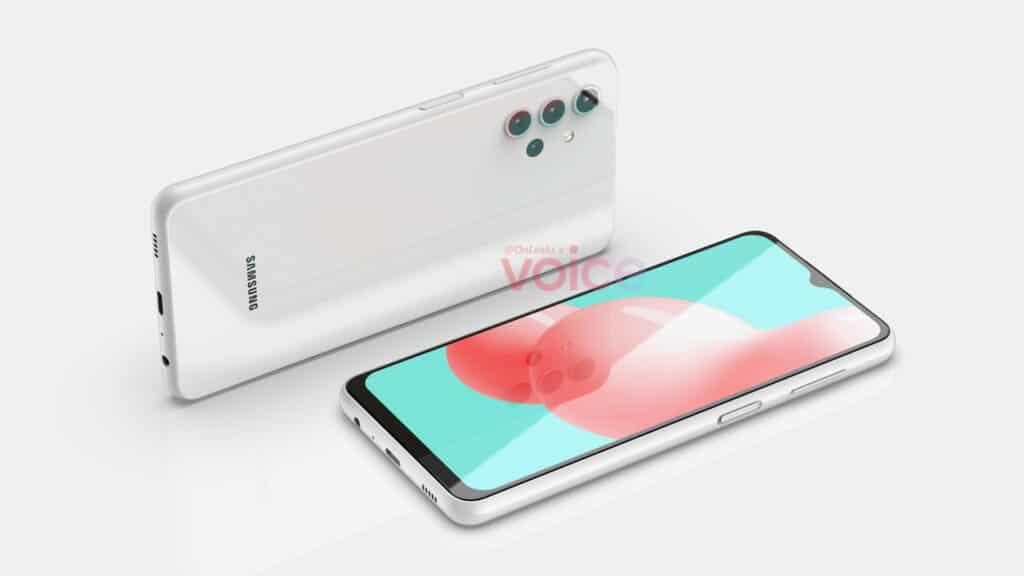 Samsung Galaxy A32 5G render 3