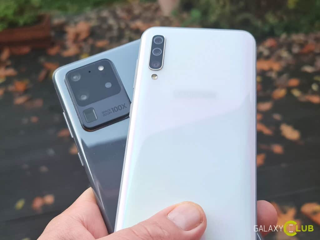 Samsung Galaxy S20 en A50 update januari 2020