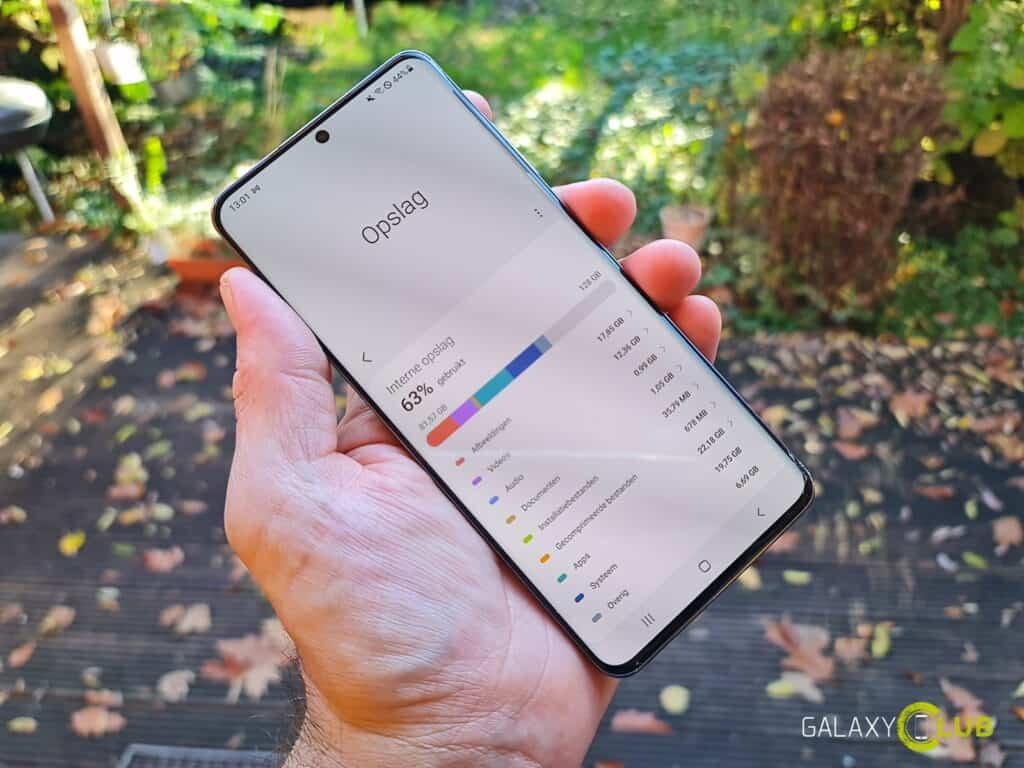 Samsung Galaxy S20 with Android 11: Device maintenance updated