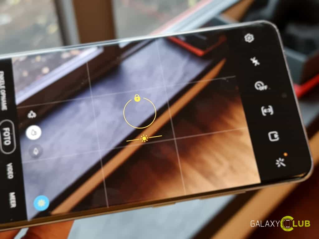 Camera op de Samsung Galaxy S20 in Android 11 en One UI 3