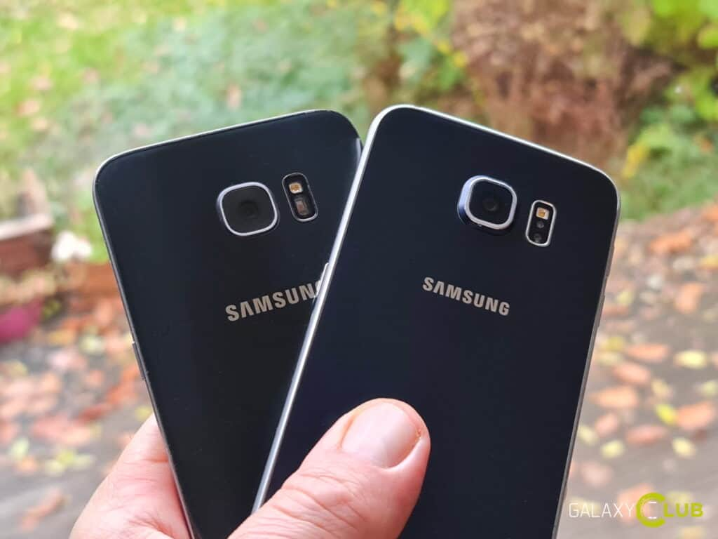 Samsung Galaxy S6 and S7 update in the Netherlands 2020