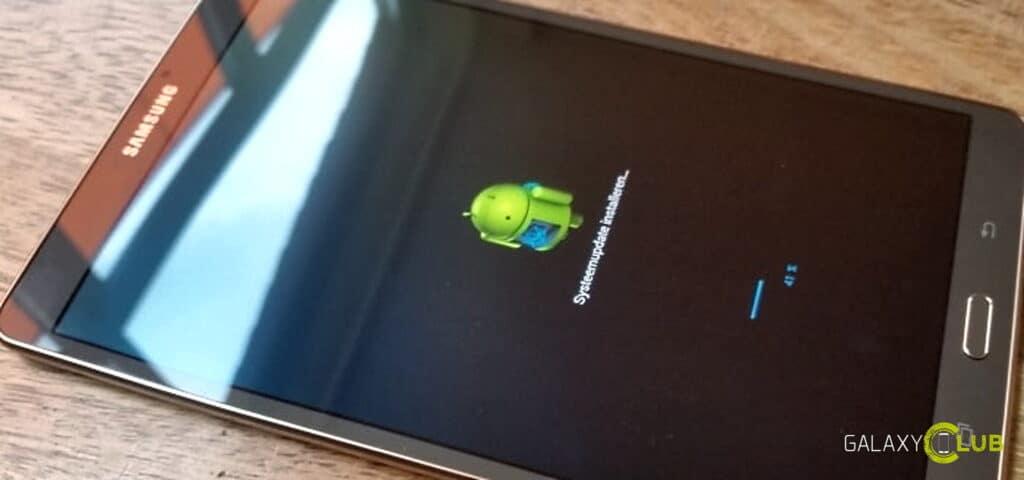 Samsung Galaxy Tab S 8.4 update in 2020