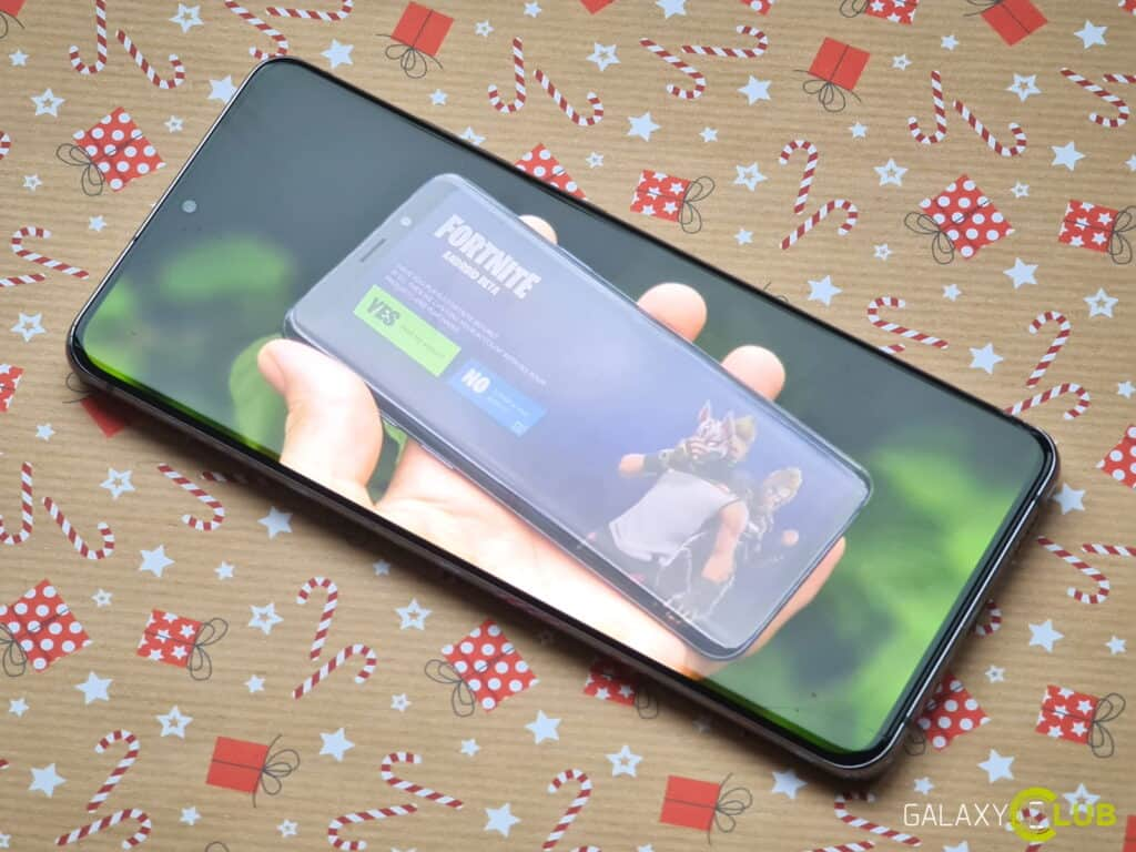 Samsung GameDriver Galaxy S20