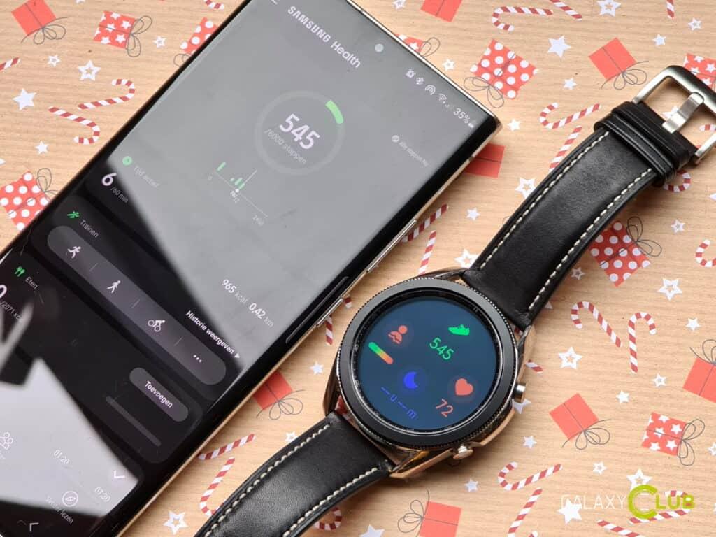 Samsung Health alleen nog met Samsung account