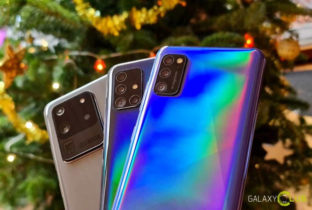 Samsung cadeau tips: kerst acties en aanbiedingen