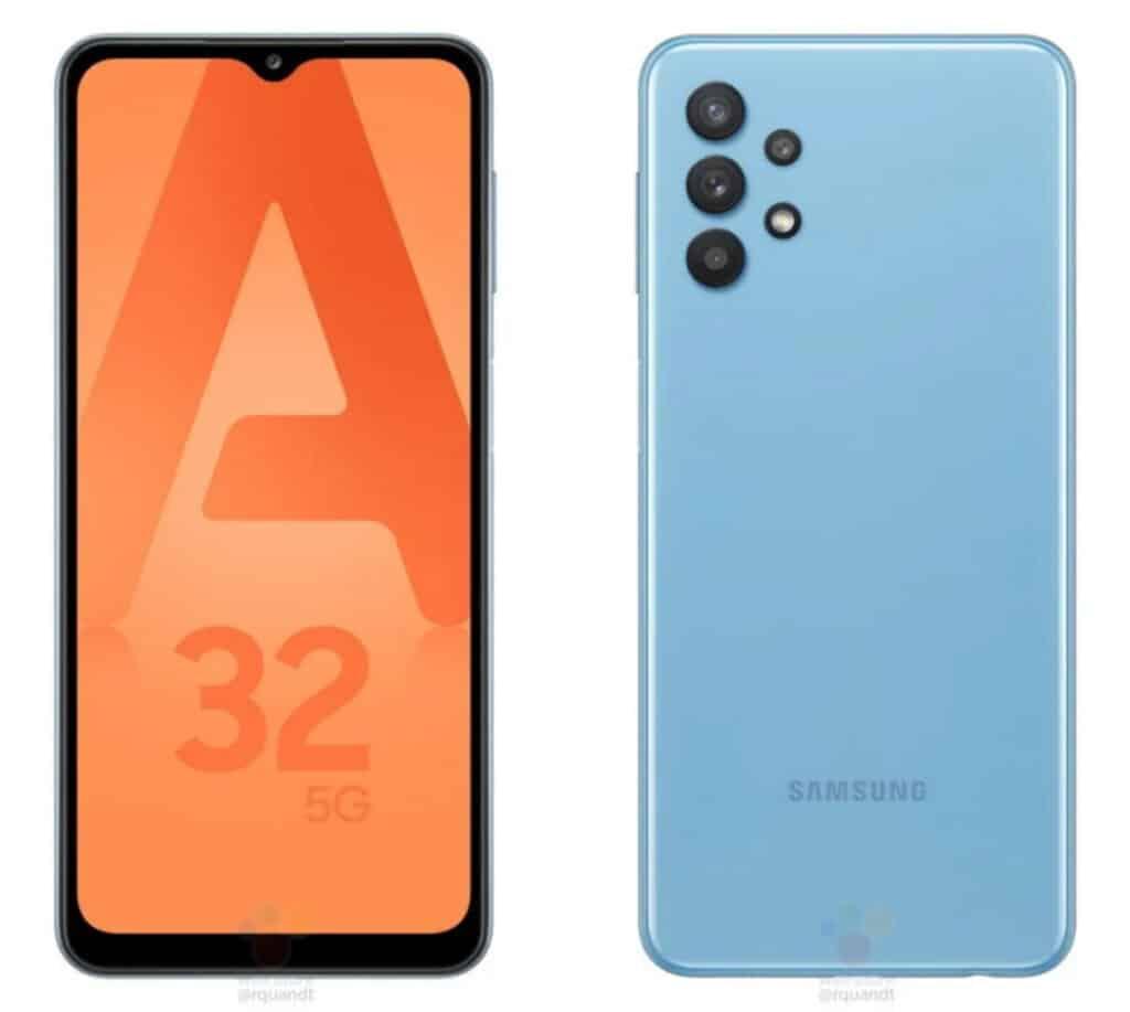 Samsung Galaxy A32 5G afbeeldingen