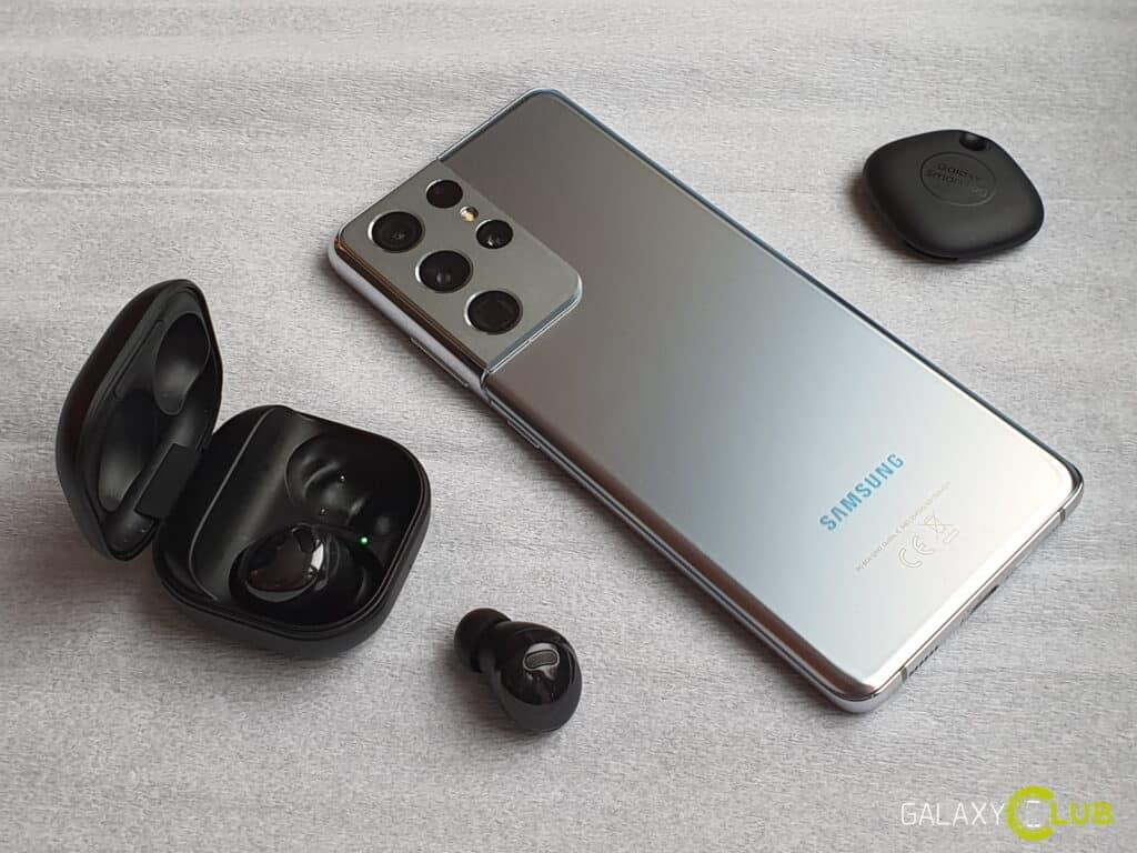 Samsung Galaxy S21 met gratis Galaxy Buds en Tag