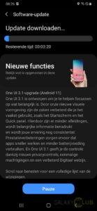 Samsung Galaxy A50 update Android 11 in Nederland: Changelog
