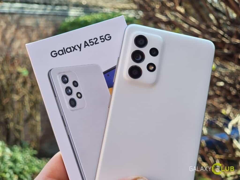 Samsung Galaxy A52 5G benchmarks: Snapdragon 750G