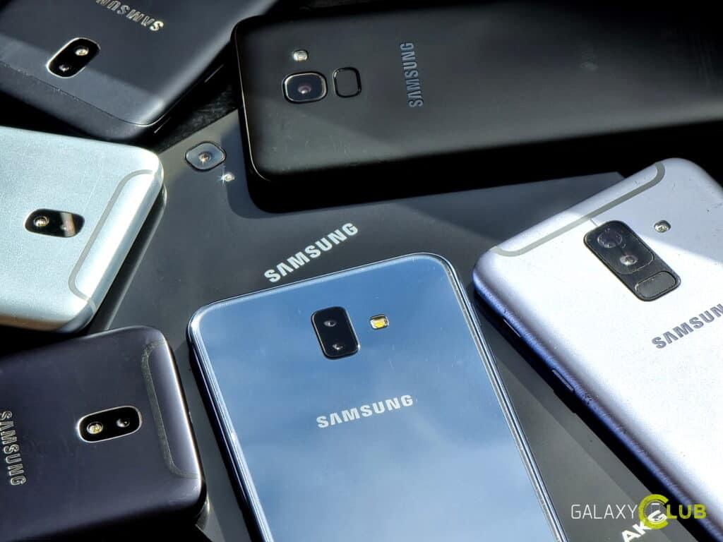 samsung telefoons die twee keer jaar een update krijgen