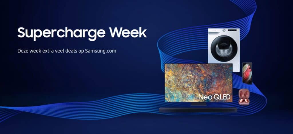 Samsung Supercharge Week aanbiedingen