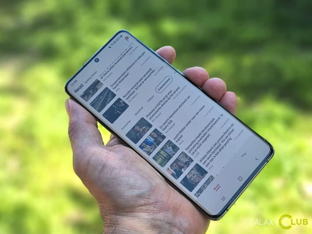 Samsung Free uitschakelen, uitzetten from Google Discover