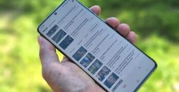 Samsung Free uitschalen, of Google Discover uitzetten
