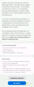Galaxy A21s update firmwareversie
