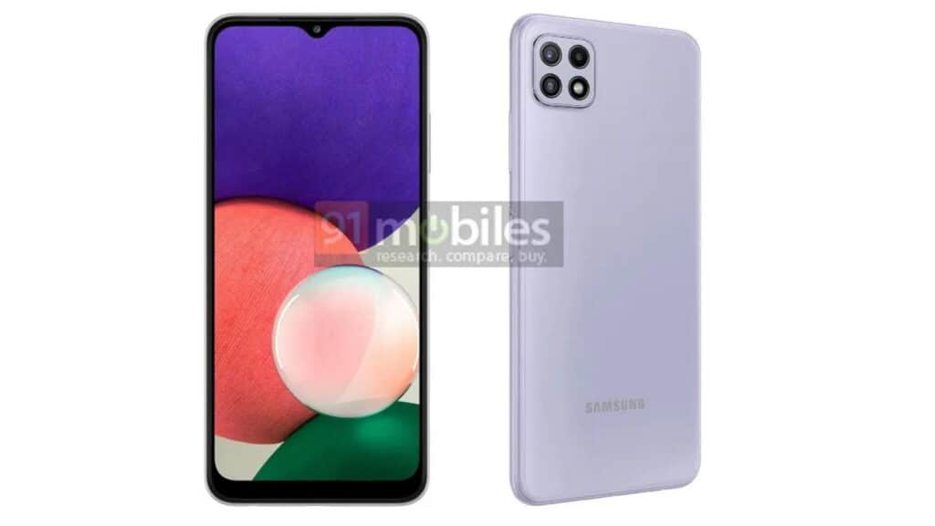 Samsung Galaxy A22 prijs