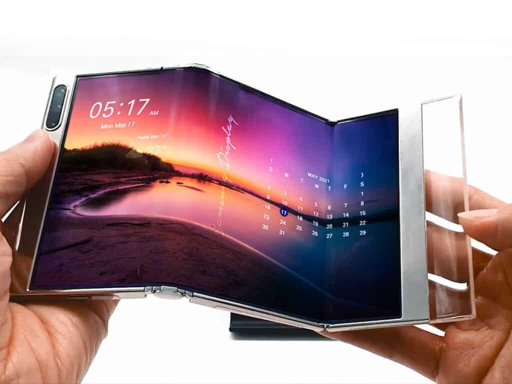 Galaxy S Fold tri-foldable