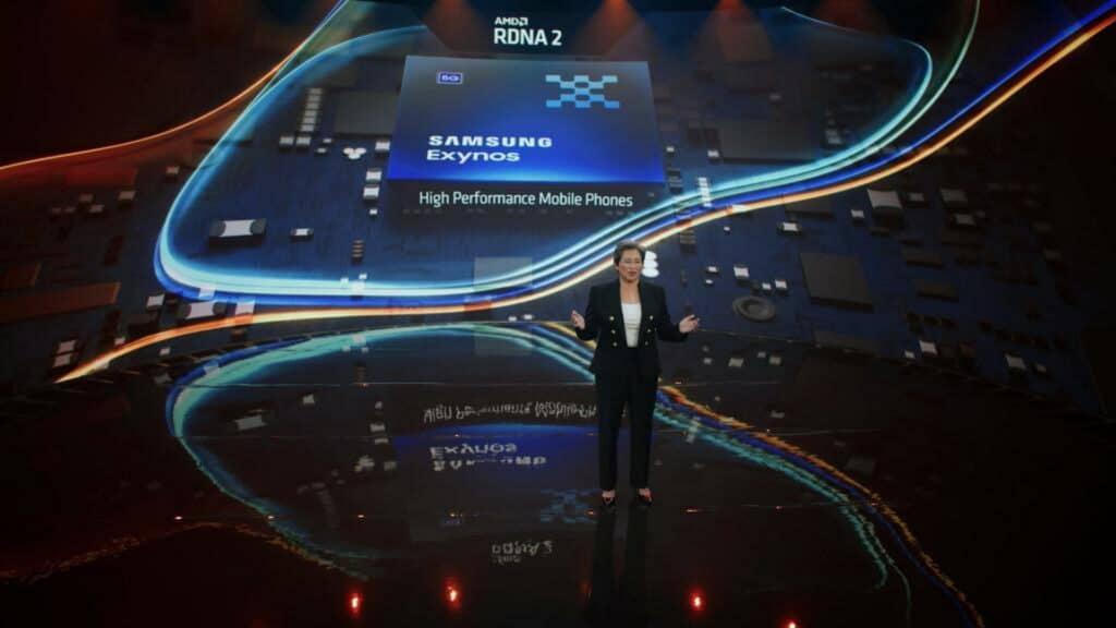 Samsung Galaxy S22 Geekbench Exynos 2200 AMD GPU