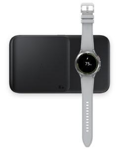 Samsung Galaxy Watch 4 actie gratis Wireless Charger Duo draadloze oplader