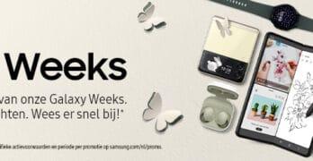 Samsung aanbiedingen: Galaxy Weeks