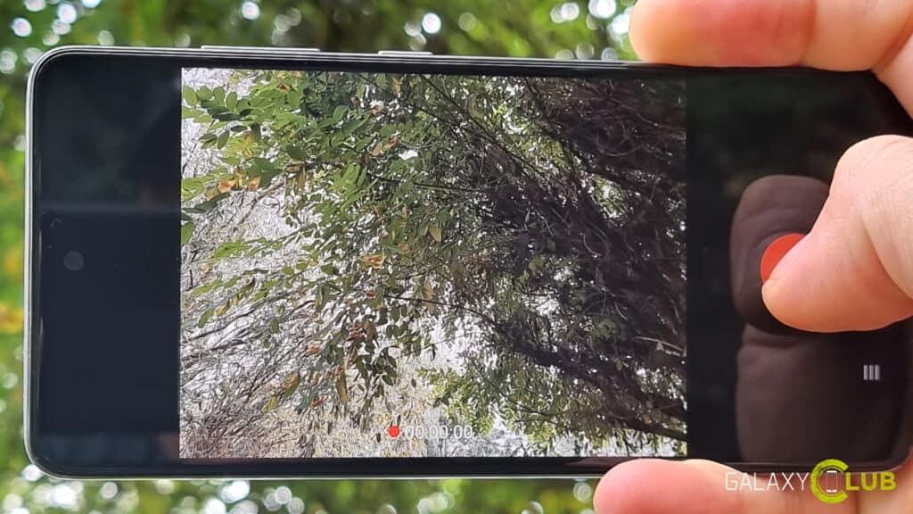 Samsung Galaxy camera-tip: video openemen in de Foto-stand, burst modus, GIF maken