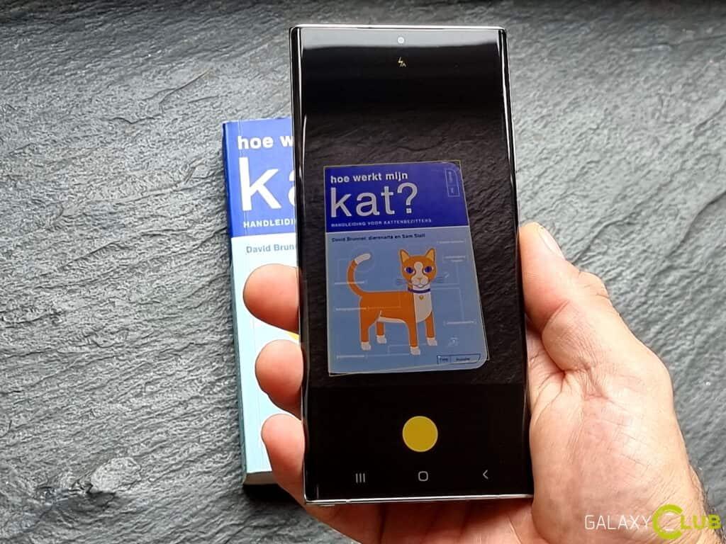Document scannen met Samsung telefoon: meerdere pagina's, naar PDF