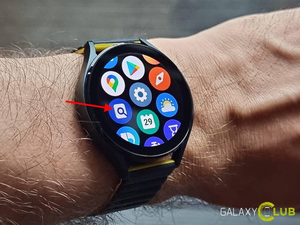 Galaxy Watch 4 telefoon zoeken