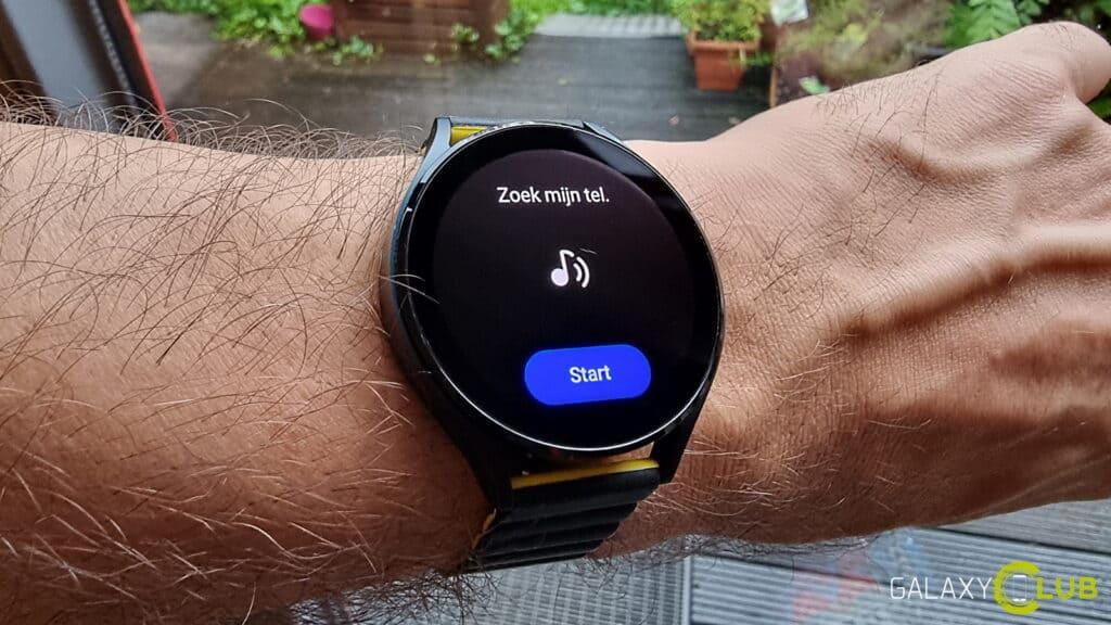 Samsung Galaxy Watch tip: je telefoon zoeken en vinden