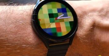 Galaxy Watch 4 wijzerplaat maken vanuit Galerij Samsung telefoon