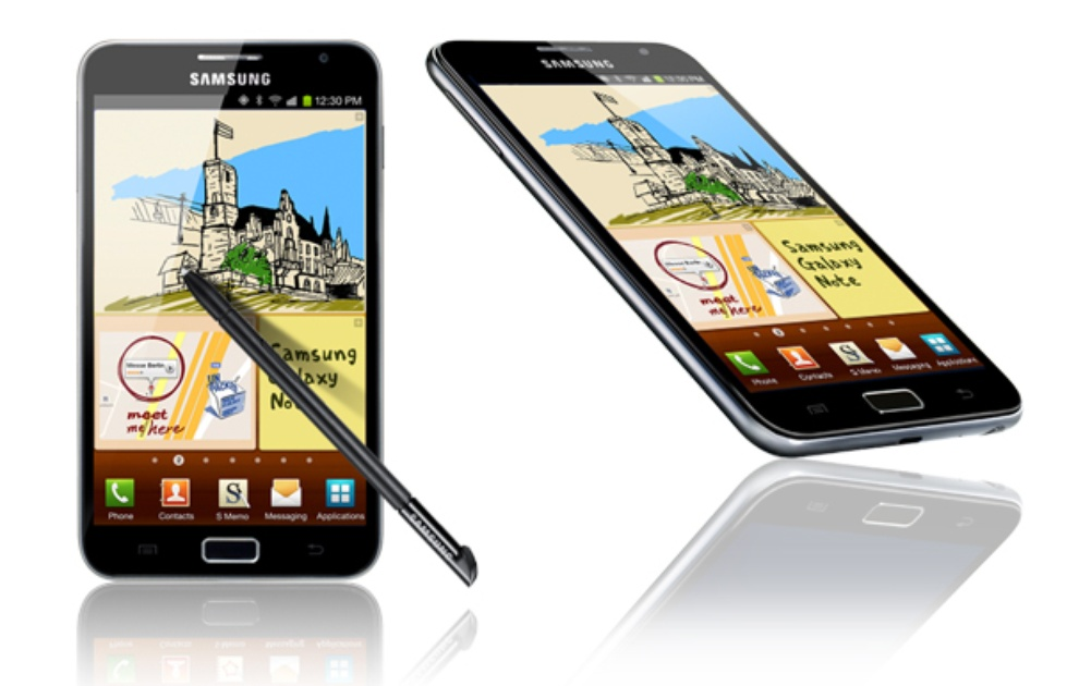 eerste-note Samsung Galaxy Note versus Galaxy Note 2 (update)