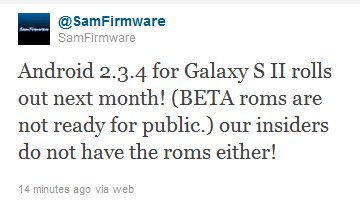galaxys2android234samfirmware Android 2.3.4 update voor Galaxy S2 komt volgende maand