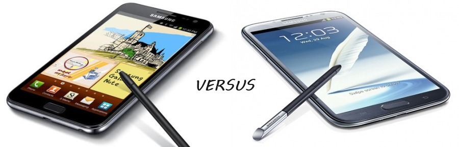 note-v-note-21 Samsung Galaxy Note versus Galaxy Note 2 (update)