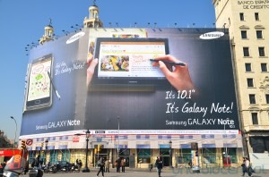 samsung-galaxy-note-10-1-billboard1-300x198 Galaxy Note: van toestel naar serie?