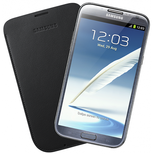 Samsung Galaxy Note 2 Pouch Navy Blue