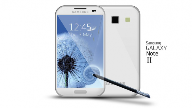 samsung-galaxy-note-2-render Samsung Galaxy Note 2 introductie mogelijk in augustus