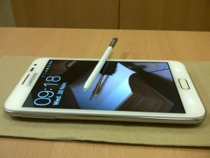 samsung-galaxy-note-wit-300x225 Witte Samsung Galaxy Note arriveert in Nederland!