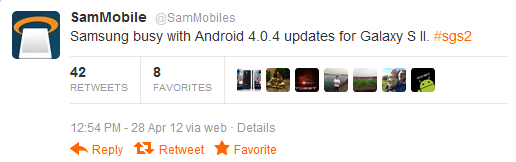 samsung-galaxy-s2-android-4-0-4 Samsung zit niet stil - Android 4.0.4 update in ontwikkeling