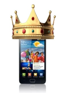 samsung-galaxy-s2-king Galaxy S2 blijft misschien nog iets langer 'King of the Hill'
